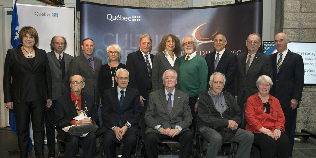 Benoît Lévesque et Michel Chrétien lauréats du prix du Québec 2015