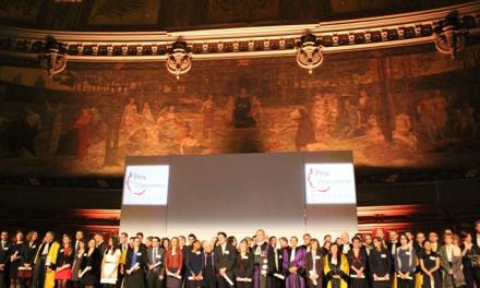 Prix de la chancellerie 2015 : Félicitations à nos 4 lauréats