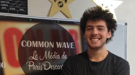 Mathias Darmon : Directeur du média Common Wave et étudiant