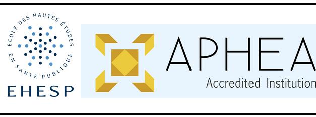 L'EHESP,1ère école européenne accréditée par l'APHEA,l'agence européenne d'accréditation de programmes et d'écoles de santé publique