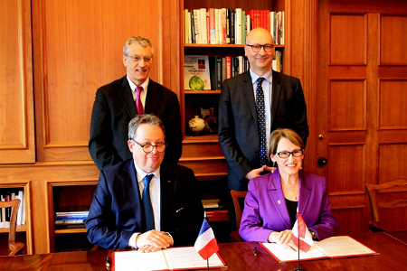 L'Université Mc Gill : nouveau partenaire de l'Université Paris Descartes
