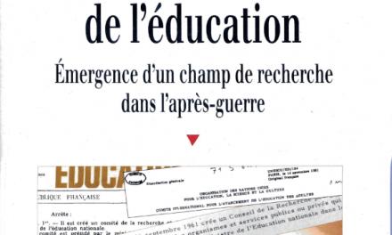 Descartes en librairie : Les sciences de l'éducation Émergence d'un champ de recherche dans l'après-guerre, Rebecca Rogers