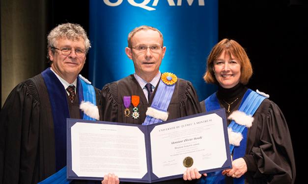 Olivier Houdé reçoit un doctorat Honoris Causa