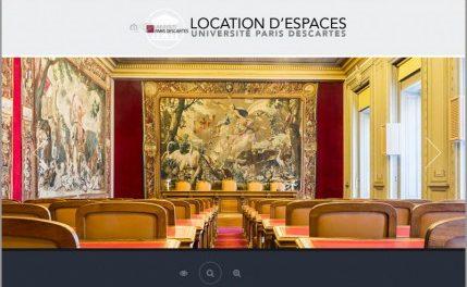 Location de salles : montée en gamme à Paris Descartes