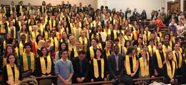 Cérémonie de remise des diplômes Masters – faculté SHS