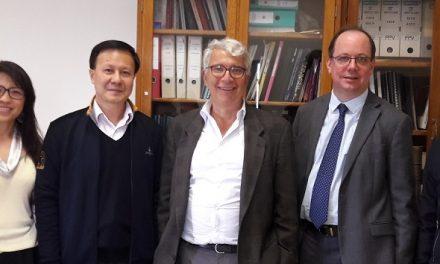 Visite d'une délégation de Sun Yat-Sen University