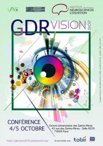 L'INC accueille le GDR VISION @ Salle R229 du Centre Universitaire des Saints-Pères | Paris | Île-de-France | France