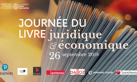 Journée du livre juridique et économique : deux nouveaux éditeurs font leur entrée