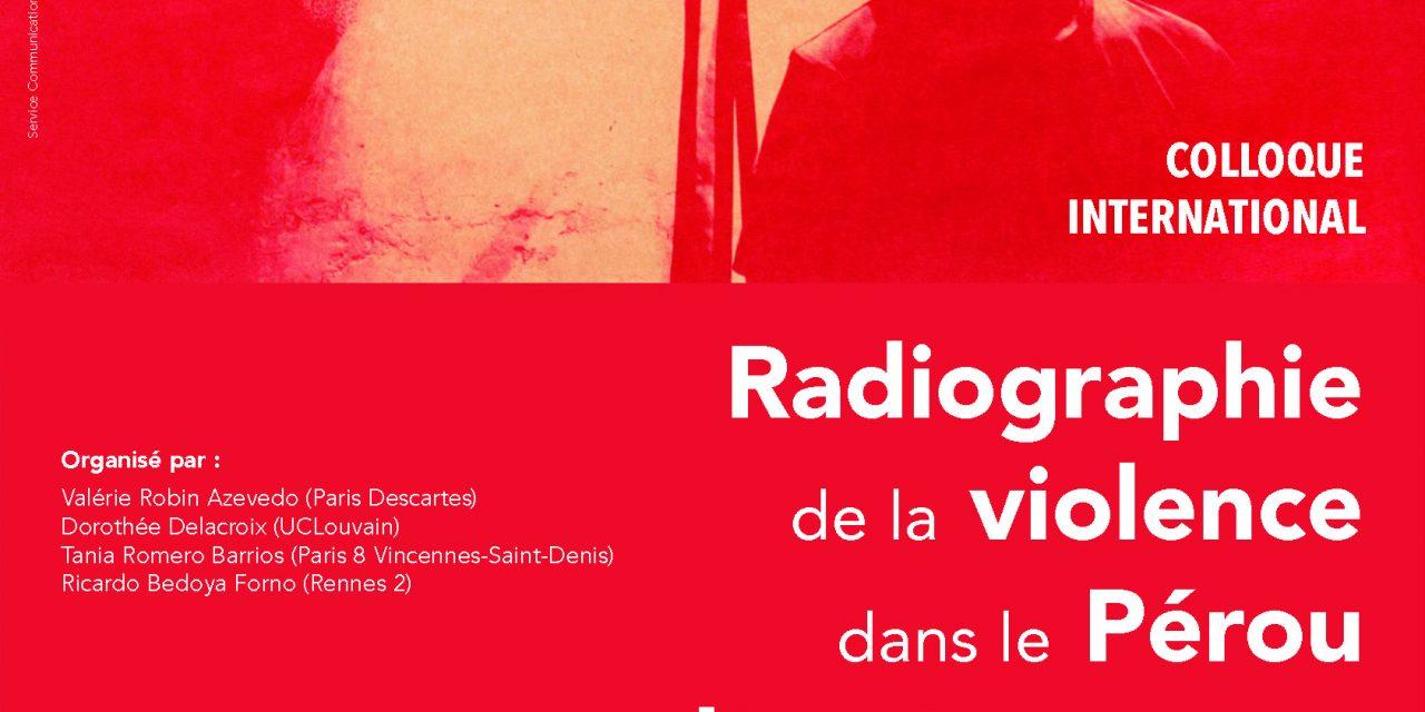 14/12 : Colloque | Radiographie de la violence dans le Pérou d'après-guerre