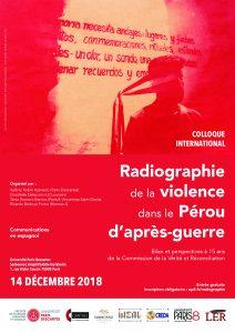 Colloque | Radiographie de la violence dans le Pérou d'après-guerre @ Sorbonne | Amphi Durkheim | Paris | Île-de-France | France