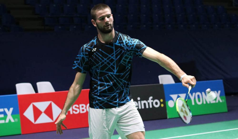 Lucas Mazur, double champion d'Europe