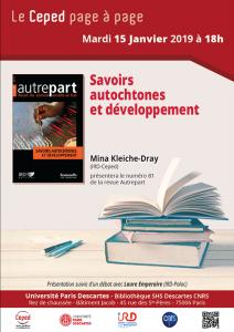Ceped Page à Page @ Bibliothèque SHS Descartes CNRS