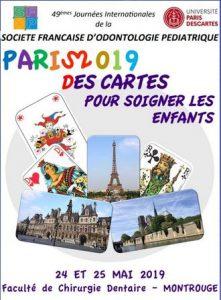 49èmes journées internationales de la Société Française d'Odontologie Pédiatrique @ Faculté de Chirurgie Dentaire