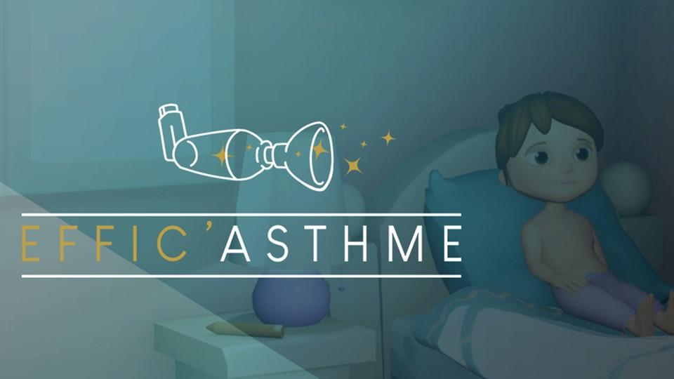 Effic'Asthme : premier serious game destiné à la gestion des enfants asthmatiques