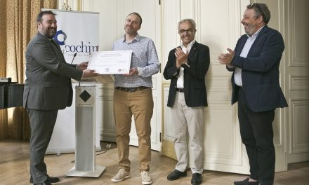 Mark Scott lauréat de l'édition 2019 du prix de l'Innovation Elsevier-Institut Cochin