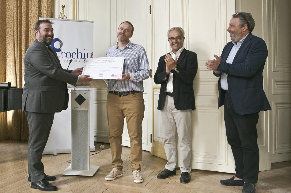 Mark Scott lauréat de l'édition 2019 du prix de l'Innovation Elsevier-Institut Cochin