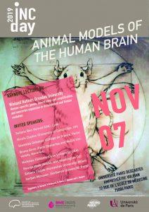 INC DAY 2019 : Animal Models of the Human Brain @ Université Paris Descartes - Amphi Vulpian
